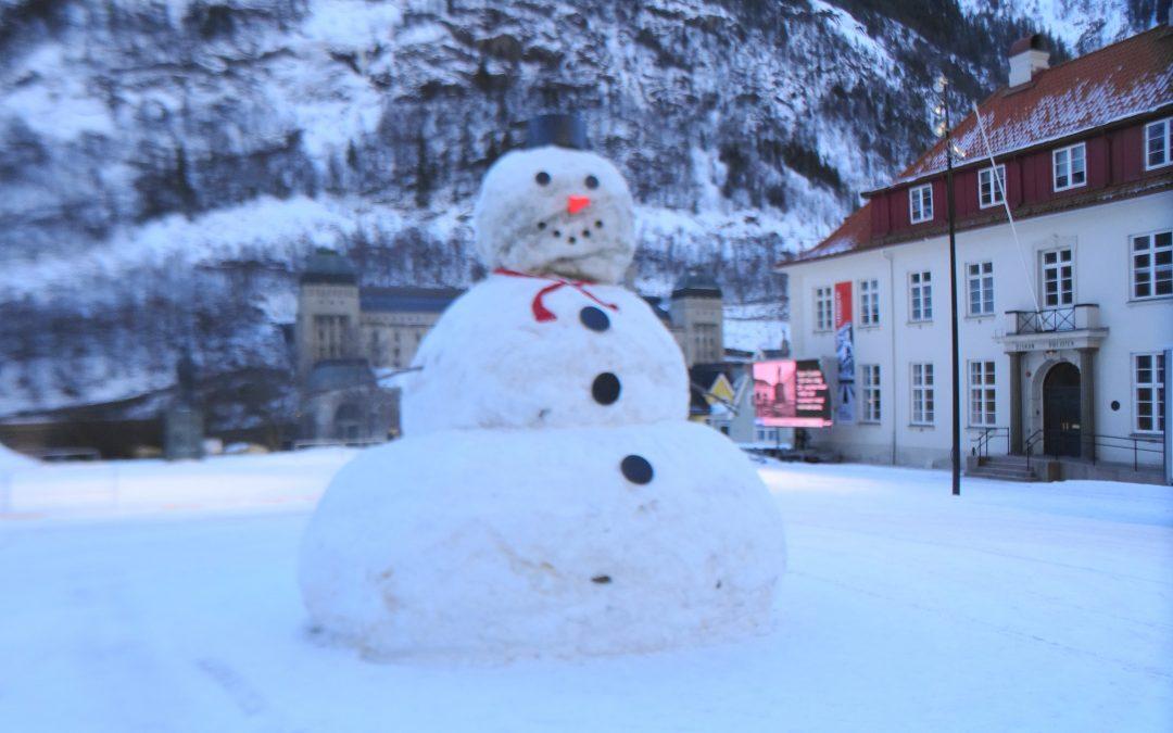 Snømannen – visning